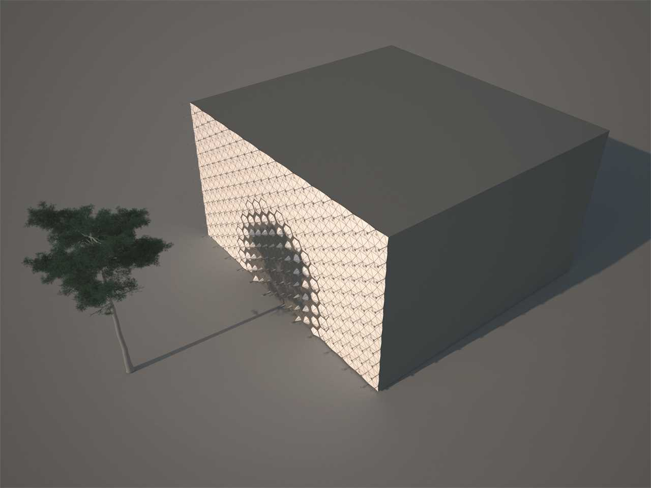 Project entry 2014 Europe – Air-Shade: Responsive sustainable shading system, Vienna, Austria