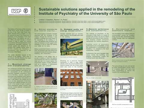 Sustainable solutions applied in the remodeling of the Institute of Psychiatry of the …