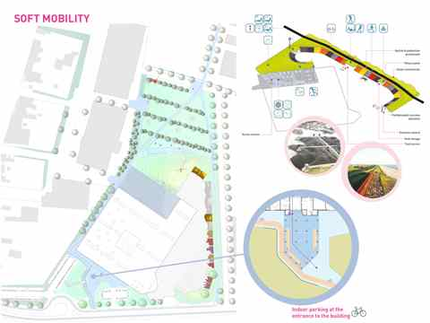 Project entry 2011 Europe – City hall and civic center recycled from former factory, …