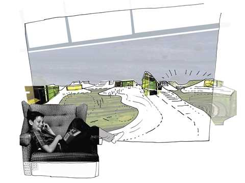 """Project entry 2008 Europe - """"Temporary urban extension in a former landfill, Maribor, …"""