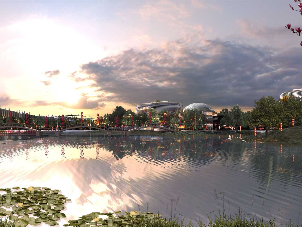 Holcim Awards Acknowledgement prize 2008 Asia Pacific: Dongtan Eco-City urban concept, …