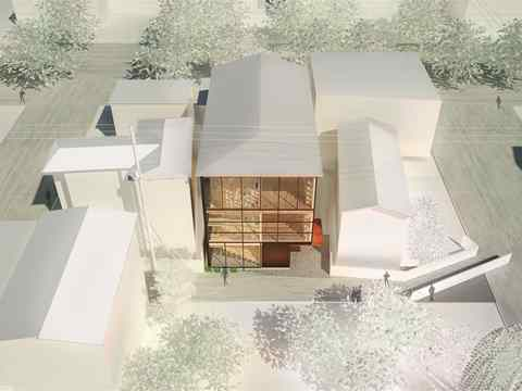 Project Entry 2014 Asia Pacific - High-Tech Low-Tech: Sustainable research center …