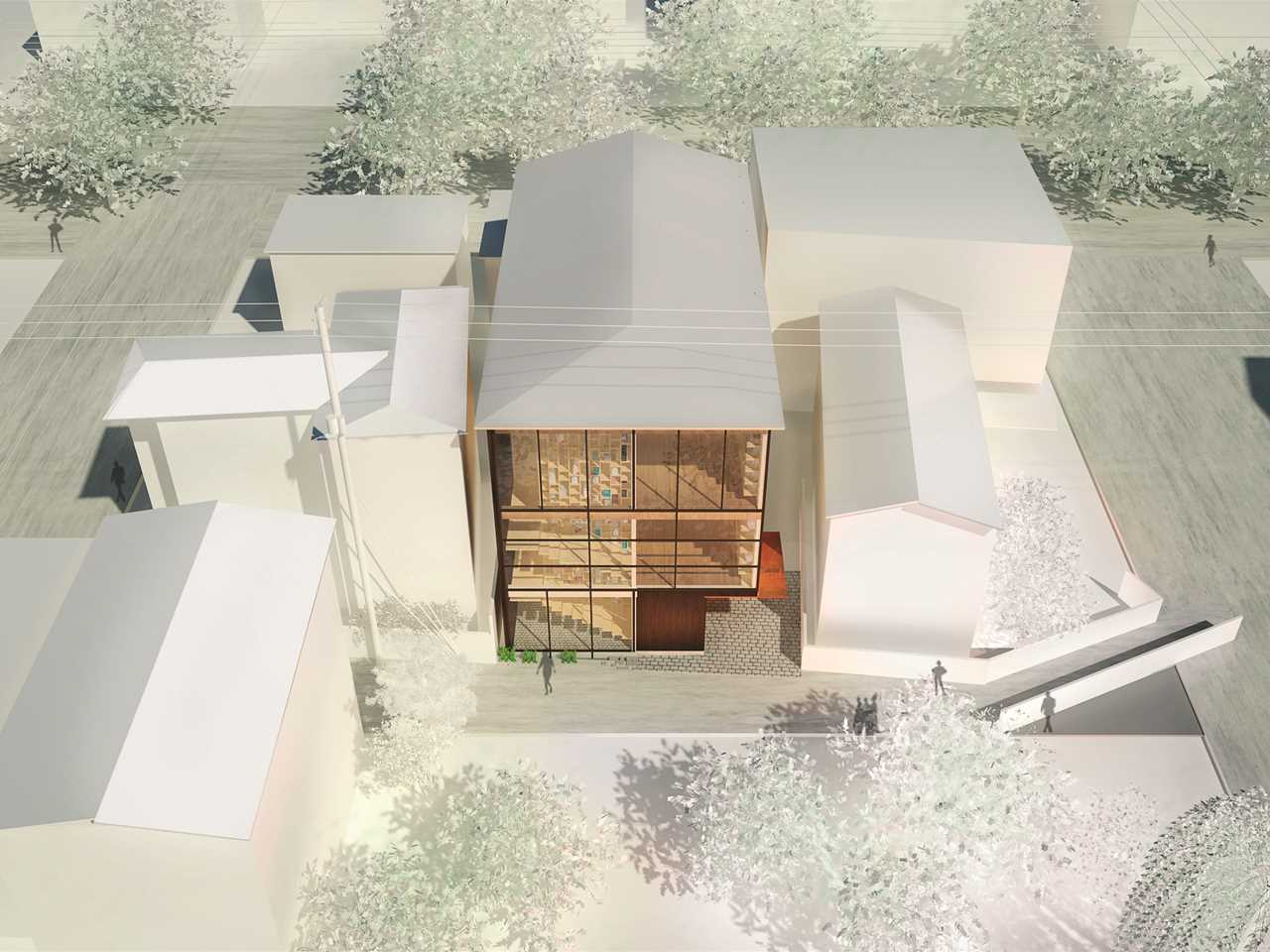 Holcim Awards Acknowledgement prize - High-Tech Low-Tech: Sustainable research center …