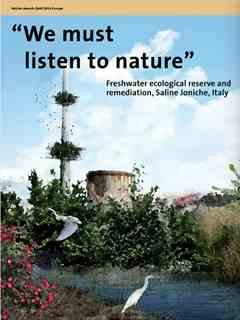 """""""We must listen to nature"""" in Fourth Holcim Awards – Sustainable Construction 2014/2015"""