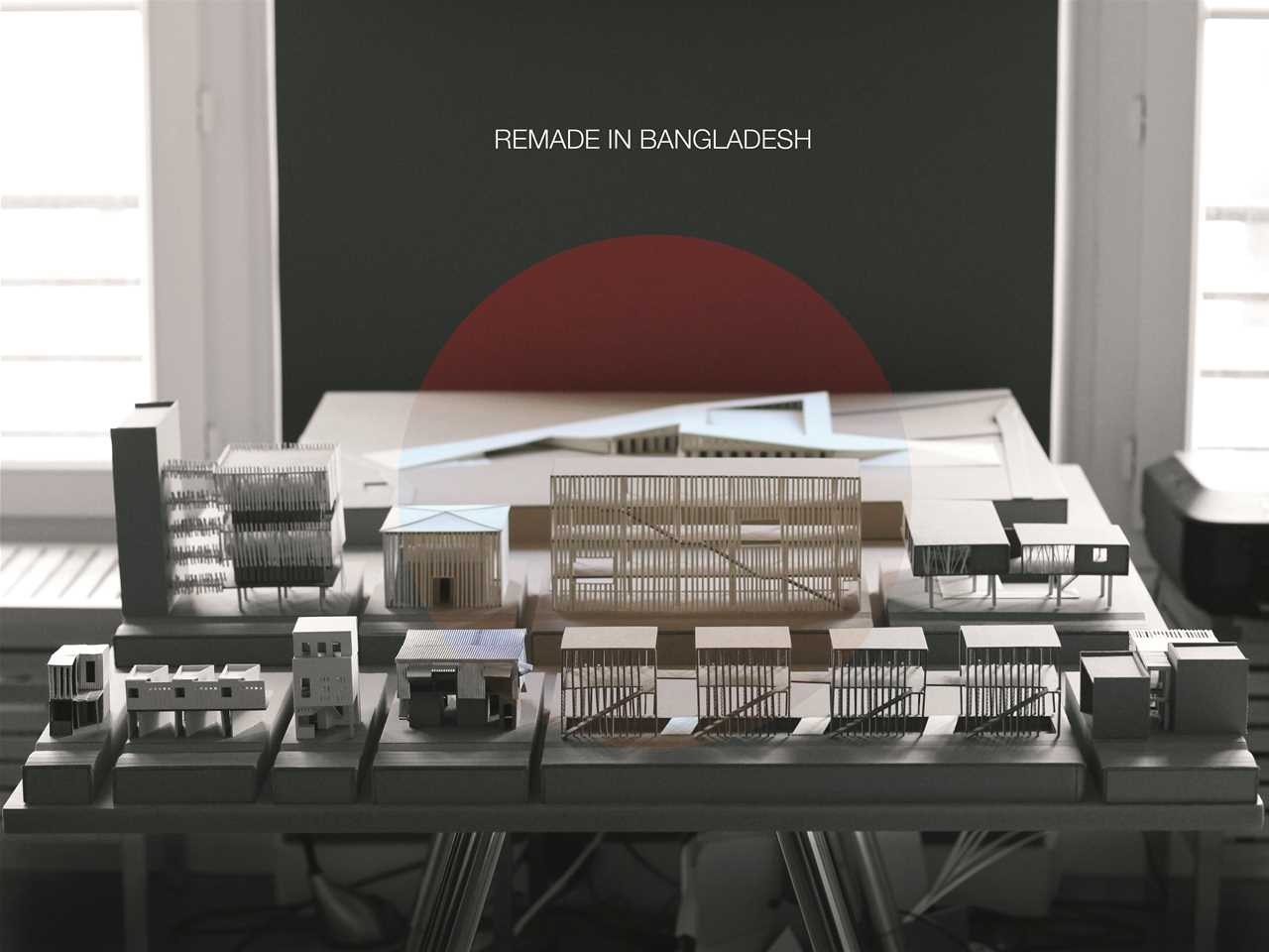 """Holcim Awards """"Next Generation"""" 5th prize - Re-Made Fabric: Garment district intervention, …"""