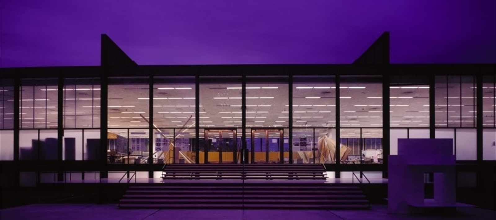 S R Crown Hall: home of the College of Architecture. Photo: courtesy, IIT Chicago.