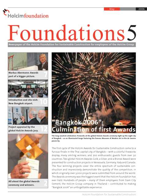 Cover of Foundations 5 Magazine