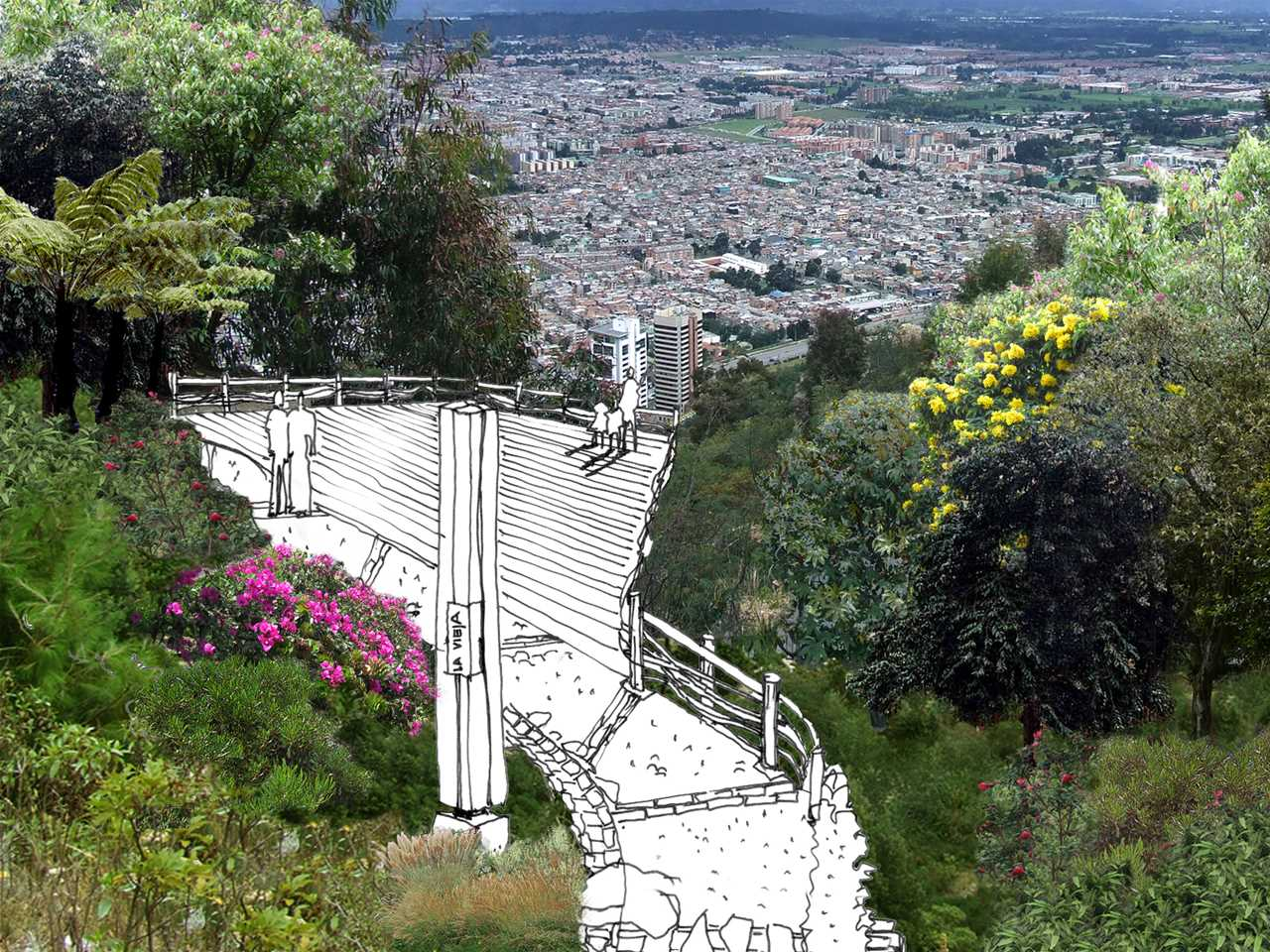 Project entry 2008 Latin America – Mountain trail for land preservation and urban …