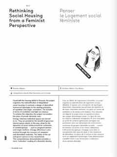 Rethinking Social Housing from a Feminist Perspective / Penser le Logement social …