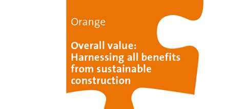 Orange Workshop: Overall value - Harnessing all benefits from sustainable construction