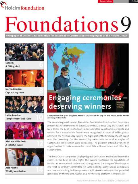 Cover of Foundations 9 Magazine