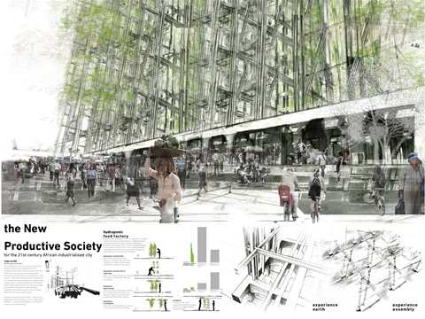 Project entry 2011 - Adaptive re-use of industrial site for urban agriculture, Pretoria, …