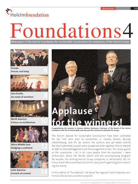 Cover of Foundations 4 Magazine