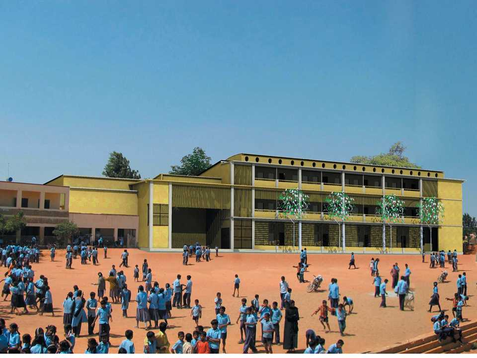Holcim Awards Acknowledgement prize 2008 Asia Pacific: Low-cost low-maintenance school …
