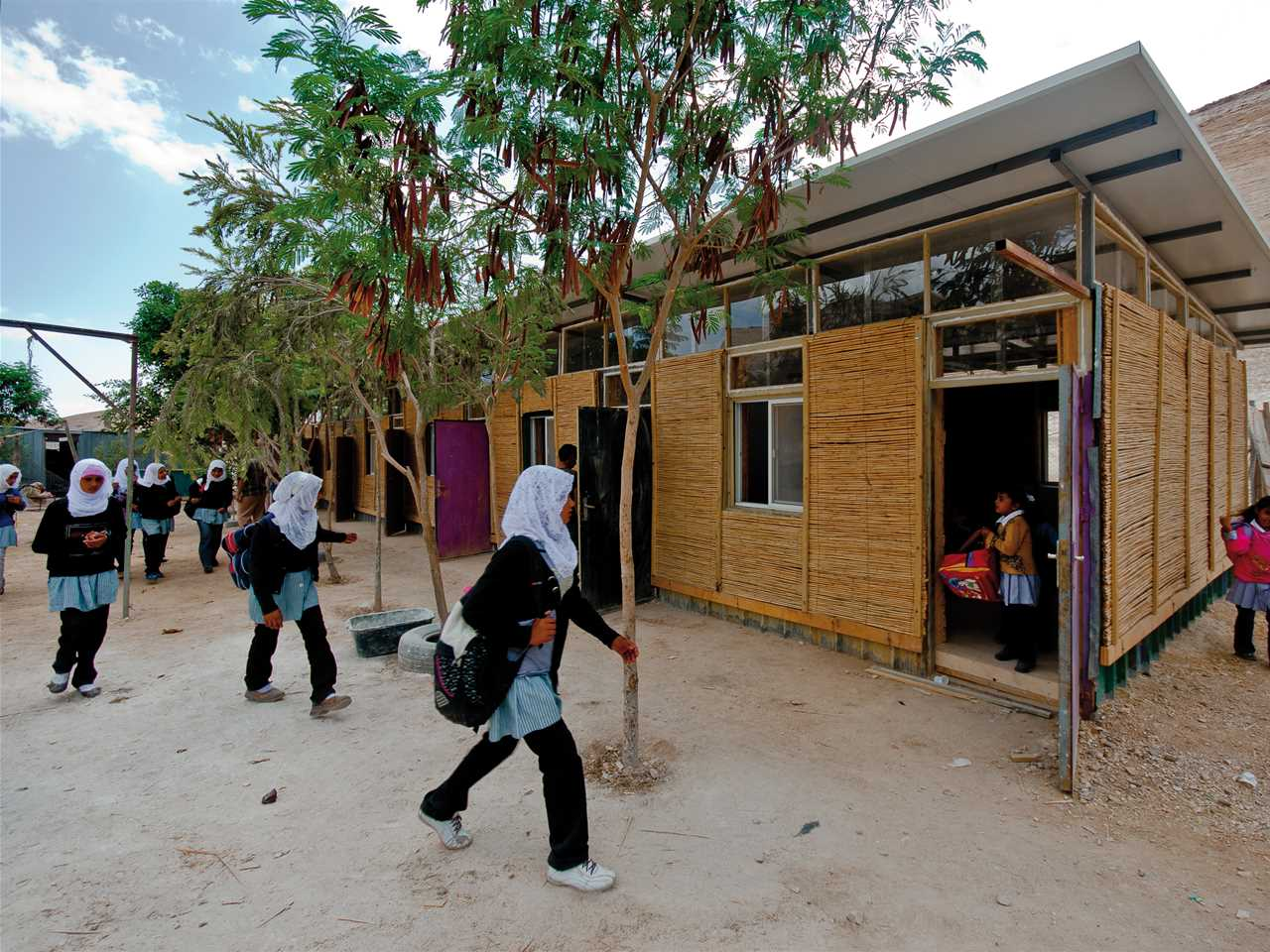 Holcim Awards Silver 2011 Africa Middle East: Sustainable refurbishment of a primary …
