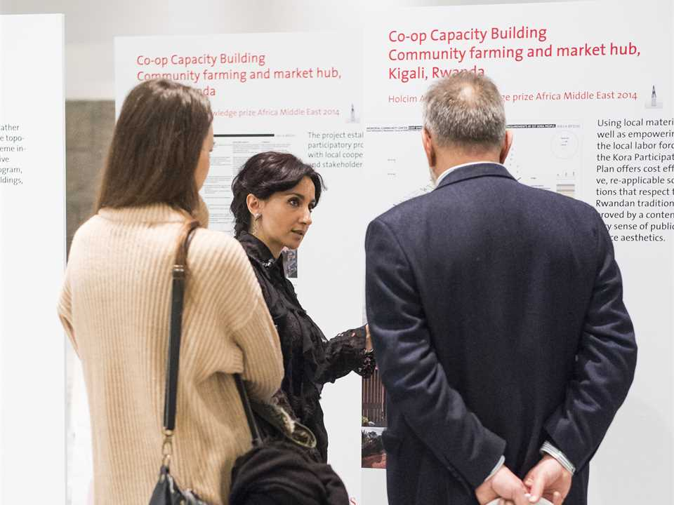 """Holcim Awards prize-winner reception for """"Anthropic Park"""" and """"Co-op Capacity Building"""" at …"""