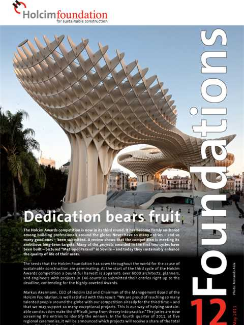 Cover of Foundations 12 Magazine