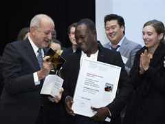 Global Holcim Awards Gold 2012 prize handover in Lausanne, Switzerland