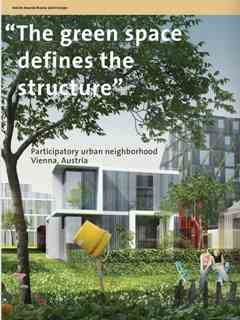 """""""The green space defines the structure"""" in Fourth Holcim Awards – Sustainable Construction 2014/2015"""