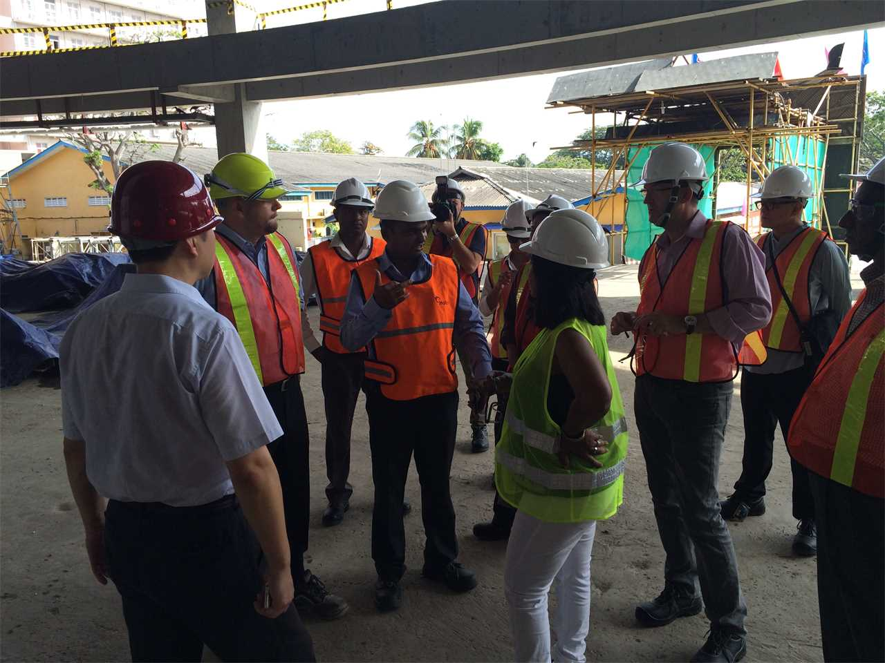 Global Silver Awards 2015 prize event – Site visits: MAS Intimates Thurulie & Lotus Tower Colombo