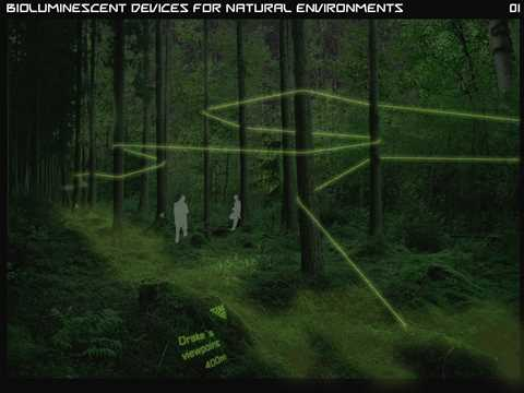 Bioluminescent devices for zero-electricity lighting