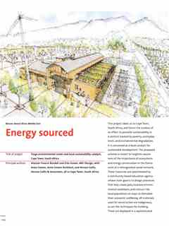 """""""Energy sourced"""" in First Holcim Awards for Sustainable Construction 2005/2006"""