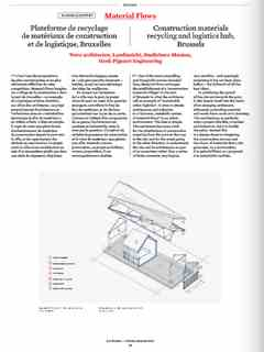 """""""Material Flows"""" in 'A'A' presents Selected Projects / Morceaux Choisis – Holcim Awards 2014"""