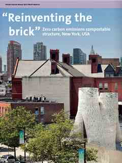 """""""Reinventing the brick"""" in Fourth Holcim Awards – Sustainable Construction 2014/2015"""