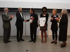 """Handover of """"Innovation"""" prize 2009: Self-contained day labor station, San Francisco, USA"""