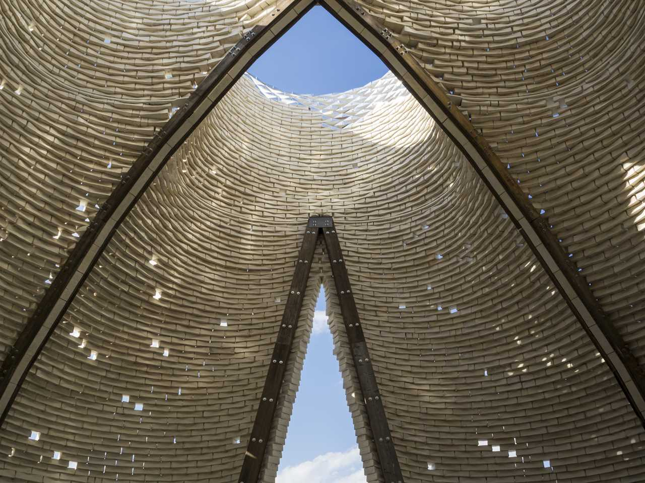 Global finalist entry 2015 - Hy-Fi: Zero carbon emissions compostable structure