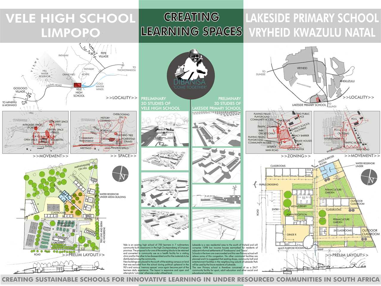 Project entry 2008 Africa Middle East – School infrastructure from local resources, Vele …