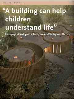 """""""A building can help children understand life"""" in Fourth Holcim Awards – Sustainable …"""