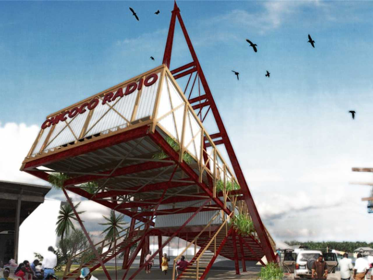 Project update April 2015 – Chicoco Radio: Community building designed for urban flooding, …