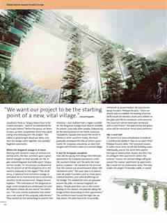 """""""Turning the high-rise upside down"""" in Third Holcim Awards – Sustainable Construction 2011/2012"""