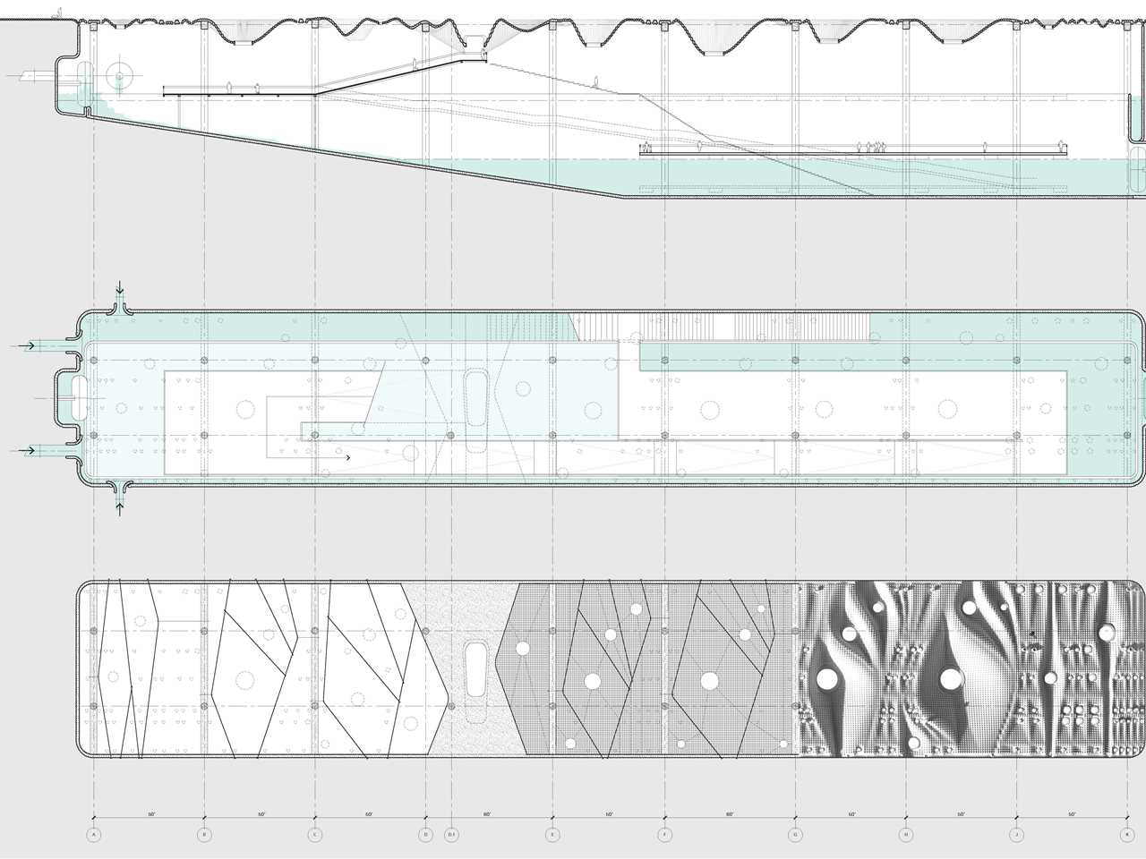 Global finalist entry 2015 - Poreform: Water absorptive surface and subterranean basin