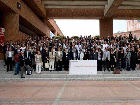 Group picture of the 3th International Holcim Forum, México City
