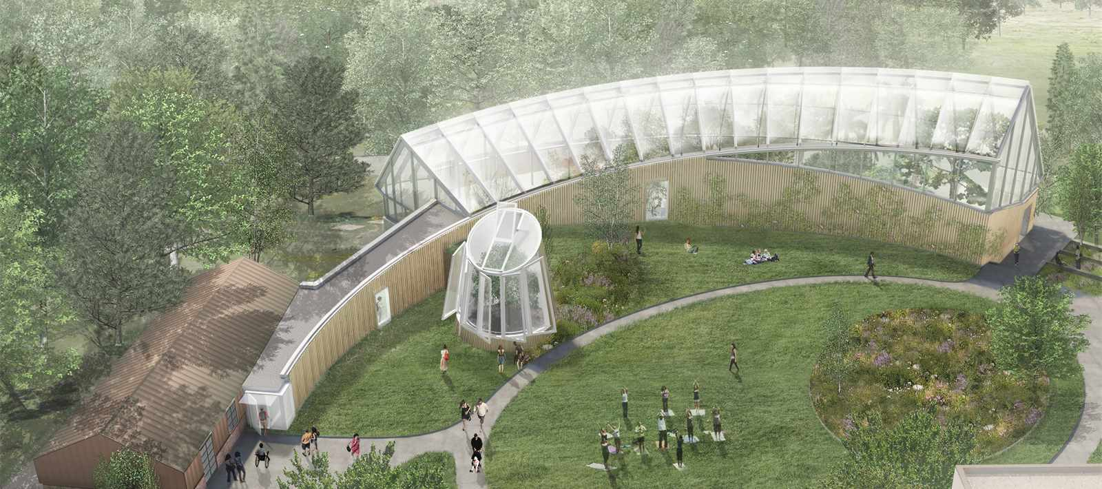"""""""Sustainability at the very core of the design in structure, form, and system"""" – Global …"""