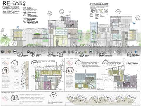 """Project entry 2011 """"Materials reuse and regional transformation scheme"""", Gijón, Spain: …"""
