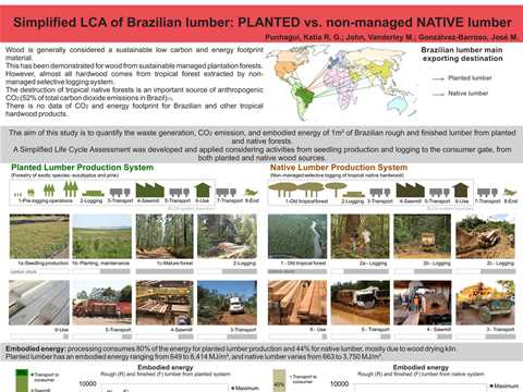 Simplified LCA of Brazilian Lumber: Planted vs Non-Managed Native Lumber