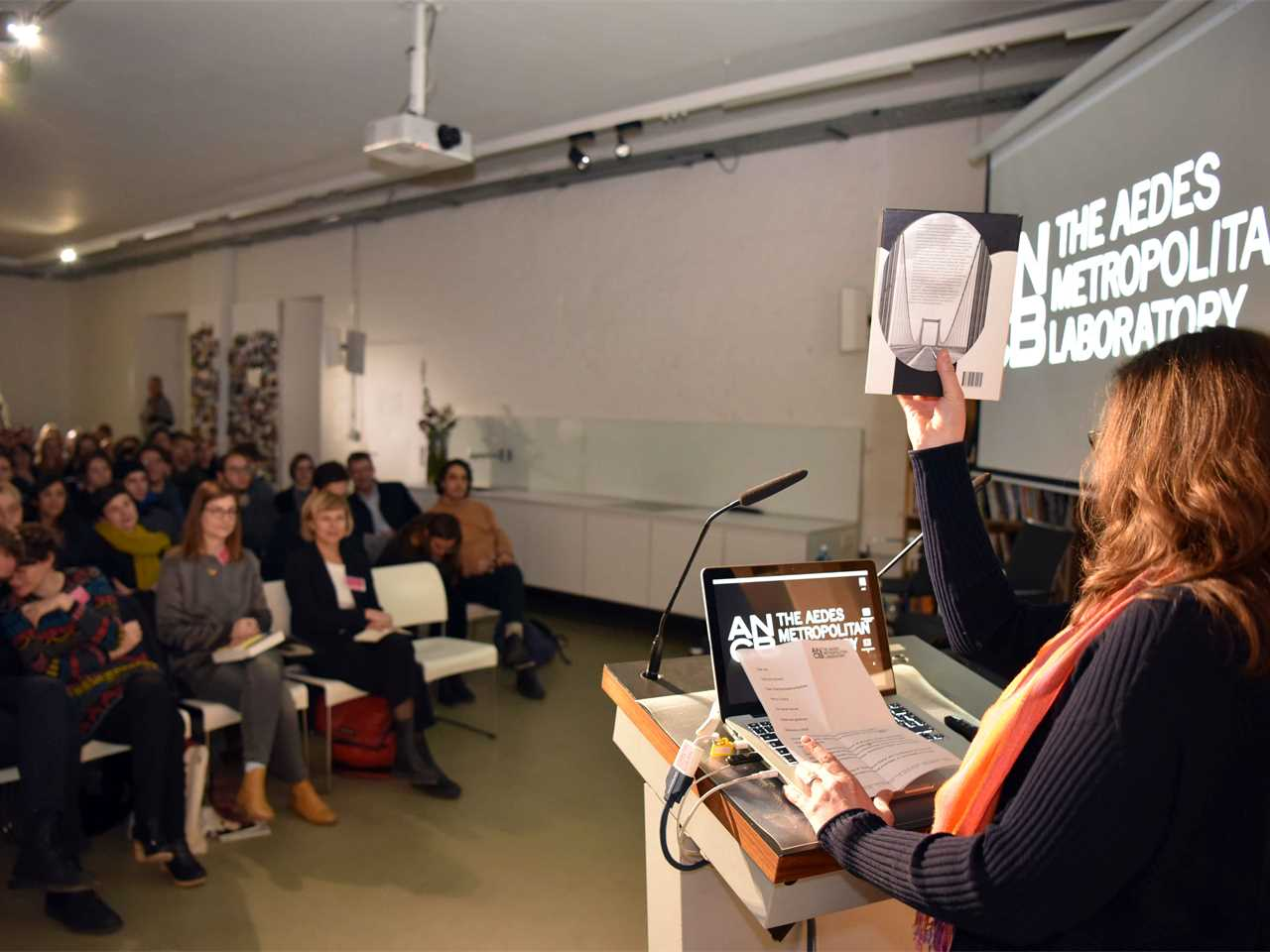 """Book launch of """"Infrastructure Space"""" by Ruby Press and public debate: The Aedes …"""