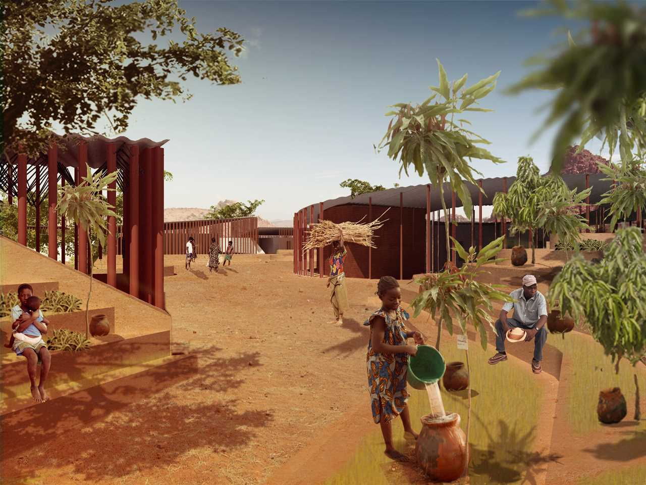 Project entry 2011 Africa Middle East – Secondary school with passive ventilation system, …