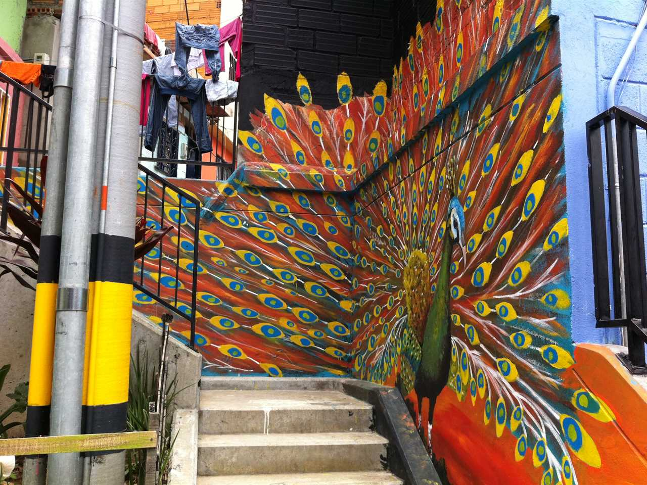 Project update May 2014 – Urban integration of an informal area, Medellín, Colombia
