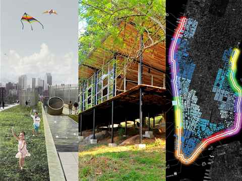 Sustainable design improving communities: top prizes for public space, social integration …