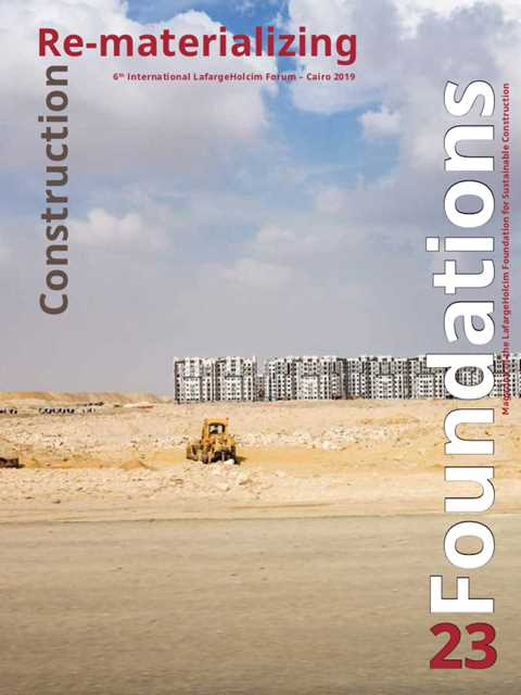 """The LafargeHolcim Forum """"Re-materializing Construction"""" with delegates from 55 countries …"""