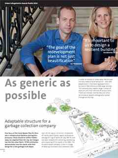 """""""As generic as possible"""" in Fifth LafargeHolcim Awards – Sustainable Construction 2017/2018"""