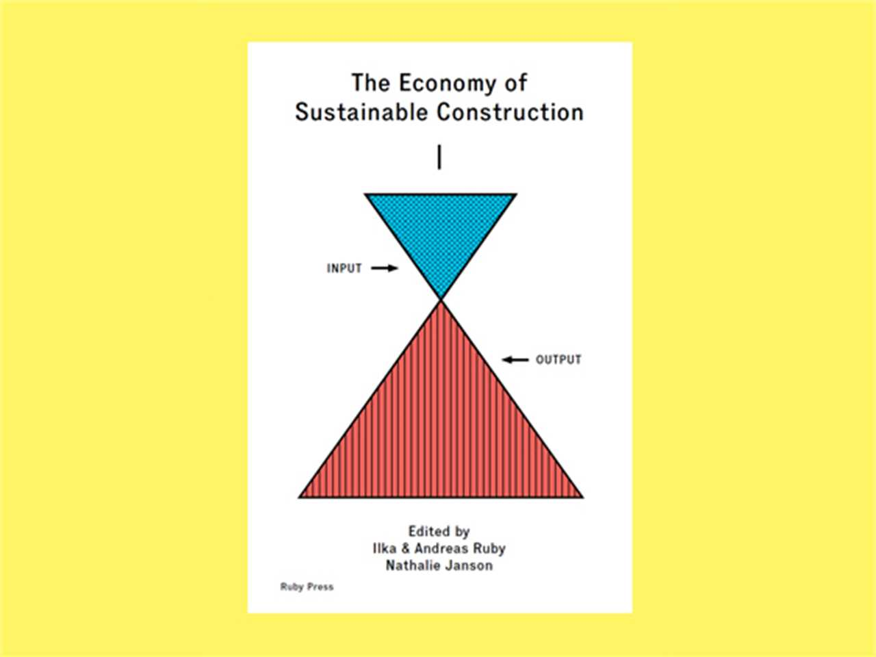 """""""The Economy of Sustainable Construction"""" book launch, Basel, Switzerland"""