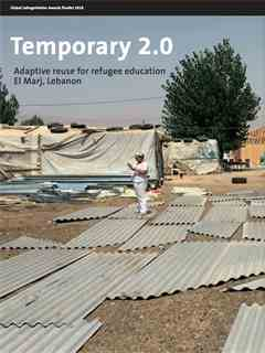 """""""Temporary 2.0"""" in Fifth LafargeHolcim Awards – Sustainable Construction 2017/2018"""