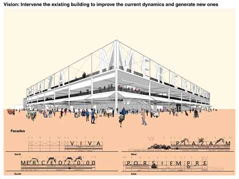 The proposal addresses the paradigmatic scenario that the building intervention represents …