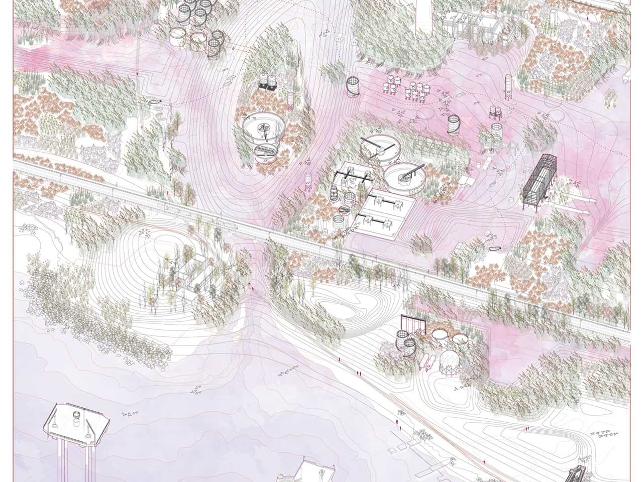 Global finalist entry 2015 - Anthropic Park: Freshwater ecological reserve and …