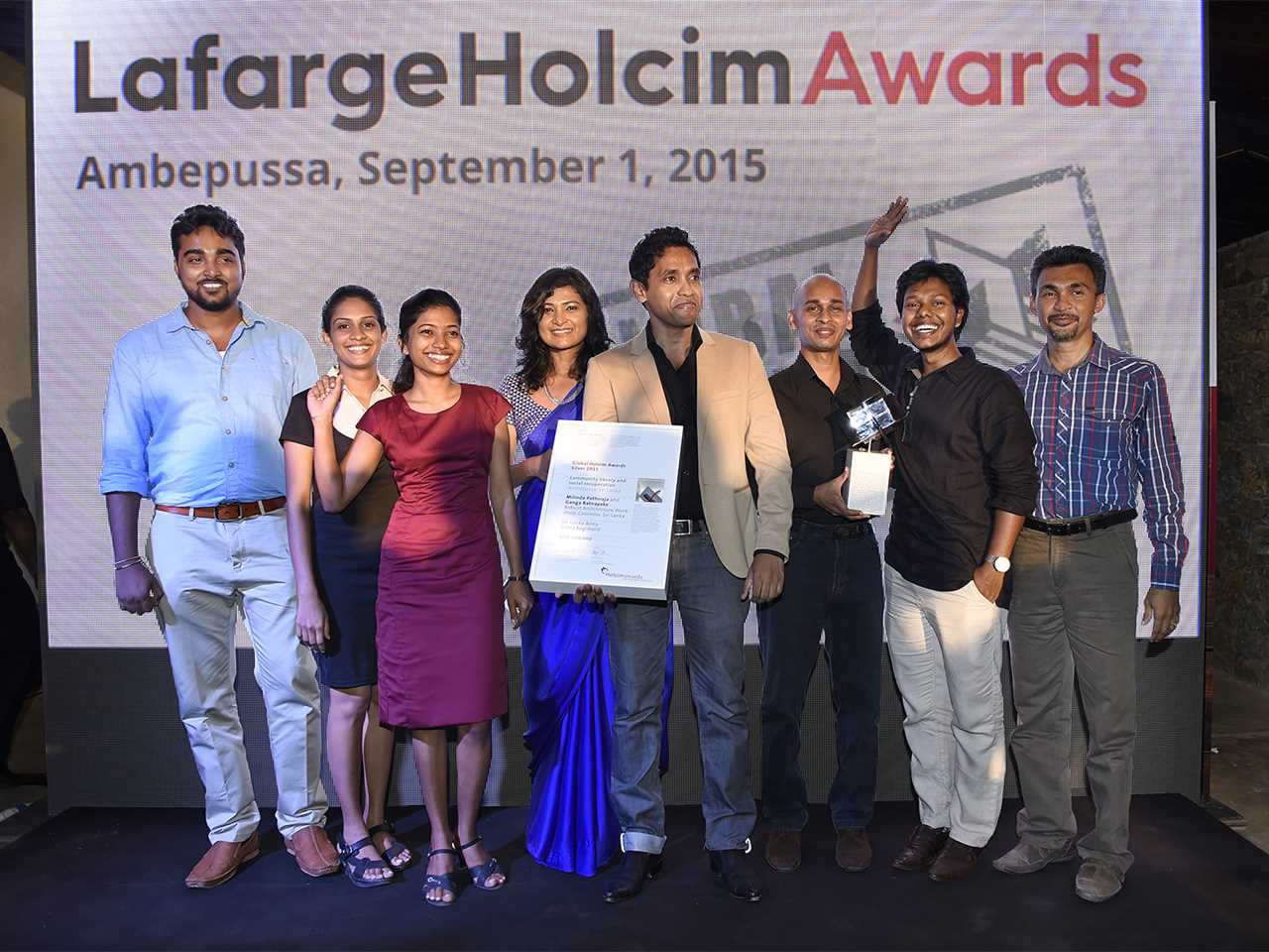 Global Silver Awards 2015 prize ceremony – Post-War Collective: Community library and …